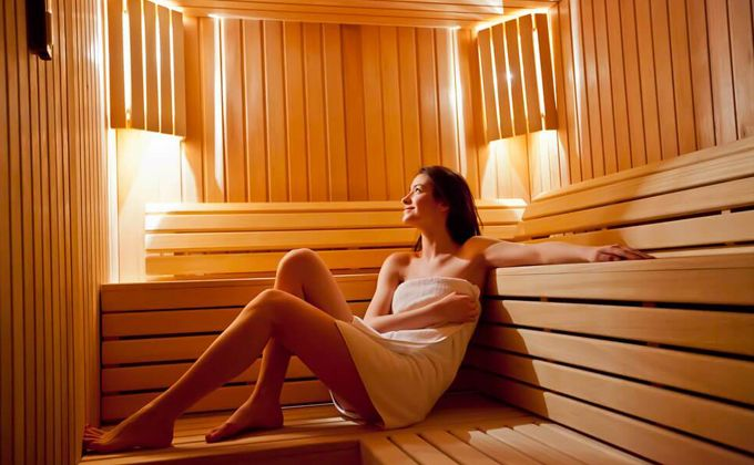 SAUNA AT AGRINHO SUITES & SPA GERÊS