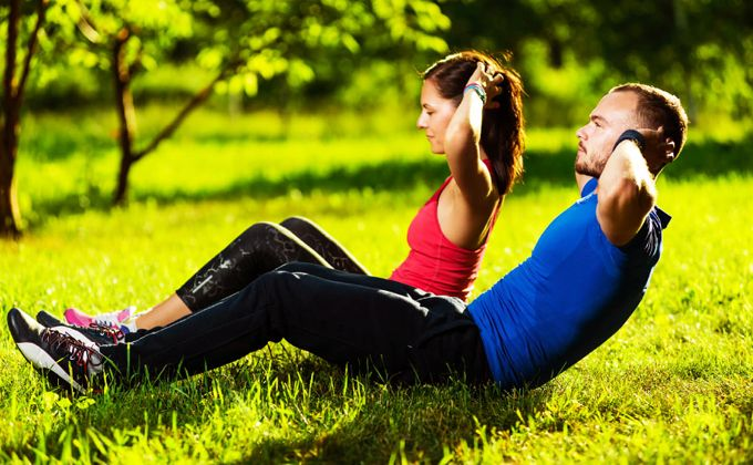 ADVANTAGES OF PHYSICAL EXERCISE IN NATURE